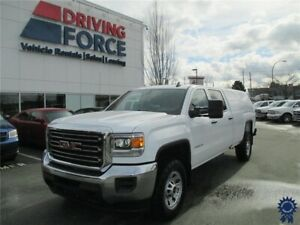 2018 GMC Sierra 2500HD Crew Cab  4X4 w/8' Box & Canopy Cover