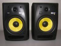 Rokit KRK RP8 G2 Studio Monitors not HIFI Speakers like NAD,Monitor Audio, Pioneer,Yamaha, Marantz