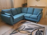Corner sofa 2mx2m used only 1year