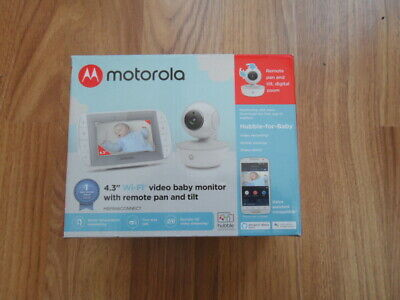 "Motorola MBP846CONNECT Video Baby Monitor with 4.3"" with Handheld Parent Unit"