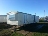 NEXT WEEK 8 Berth Caravan Hire Northumberland Sandy Bay Holiday Park Resorts to let For Rent
