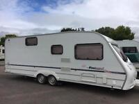 Sprite Firebrand 2006, 590 6 Berth Twin Axle With Motor Mover & Full Size Awning