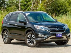 2016 Honda CR-V Touring AWD - ACCIDENT FREE|BACKUP CAM|SUNROOF