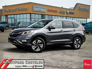2016 Honda CR-V Touring~Lane Keep~Leather~Navigation~