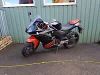 Derbi gpr 125 4t racing learner legal yamaha honda aprilia kawasaki