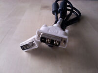 Single Link DVI-D Monitor Cable