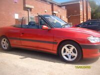 Peugeot 306 Cabriolet Sun Out Top Down Great Summer Car at A low Price !