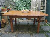 Solid Pine Farmhouse Extending Table