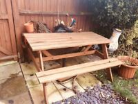 Wooden bench for 15£
