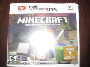 Minecraft (3DS and 2DS XL Game System). Build. Craft and Explore. Create your own Game World / Castle / Home