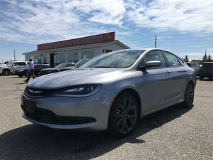 2015 Chrysler 200 S LEATHER|NAVI|PANORAMIC SUNROOF|BACK UP CAMER