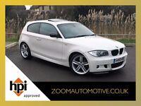 2010 BMW 118 D M SPORT WHITE DIESEL MANUAL UNIQUE CAR HIGH SPEC