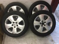 Vauxhall 4 tires Tyres & alloys