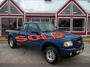 2007 Ford Ranger SPORT!! ONLY 076,000 LOW LOW KM'S!! AIR CONDITI