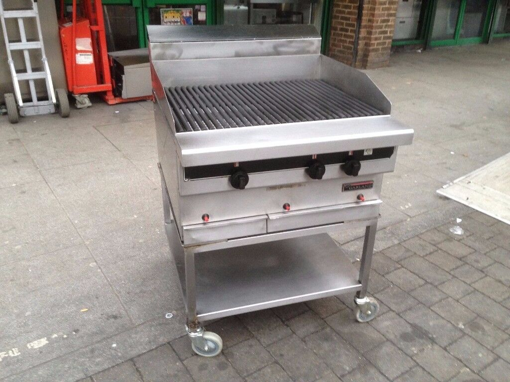 CATERING COMMERCIAL CHARCOAL GRILL FAST FOOD RESTAURANT BBQ KITCHEN KEBAB CHICKEN BAR SHOP