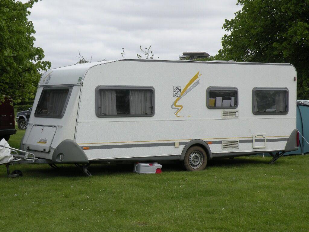 Caravan 6 Berth Knaus Sudwind 550 In Southampton