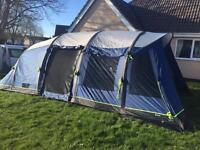 Outwell hornet xl 2015 smart air tent with footprint and carpet