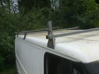 Ford transit low roof roof bars/rack mk6 or mk7