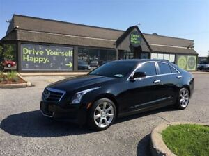 2014 Cadillac ATS Luxury RWD/LEATHER/NAV/HEATED SEATS/OFF LEASE