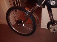 Olympus chopper bike