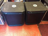 Peavey Hisys 115 Bass Bins / Speakers