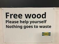 FREE WOOD, IKEA Nottingham, #bargaincorner