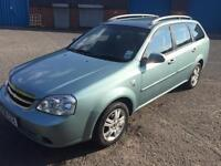 CHEVROLET LACETTI 1.6SX 2008 08 REG ESTATE + ONLY DONE 55K MILES