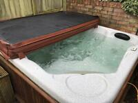 Spa form hot tub
