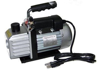 3cfm Rotary Vane Deep Vacuum Pump 14hp Ac R410a R134a-r12r22 Refrigerant Hvac