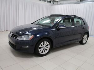2015 Volkswagen Golf IT'S A MUST SEE!! COMFORTLINE HATCH w/ BACK