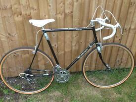 Vintage Raleigh road racing touring bike