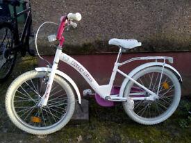 "Girls Kitty bike for sale 20"""