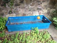 Planter box made from an old water tank. Free, Collection only