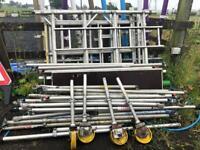 Scaffold / aluminium scaffold tower