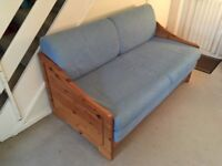STOMPA Solid Pine Sofa Bed