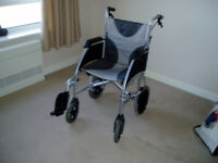 Wheelchair. Hardly used