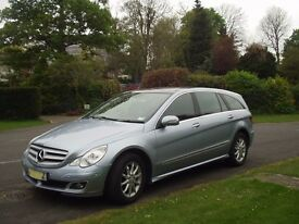 2006 Mercedes R500 Longwheelbase Panoramic roof huge spec.