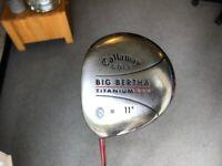 Fantastic Callaway S2H2 Big Bertha Titanium 454 11 deg Regular Golf Club Driver