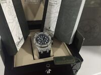 MENS DIAMOND AP ROYAL OAK CHRONOGRAPH FULLY ICED OUT NEW WITH BOX BOOKS BAG