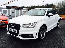 2012 Audi A1 Black Edition, 2.0 TDI, S Line, 12 MONTHS WARRANTY, Finance Available