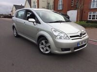 2005 (55) Toyota Corolla Verso 2.0 D-4D T3 5G Service History Mot 2F Keepers Lots Of Paperwork
