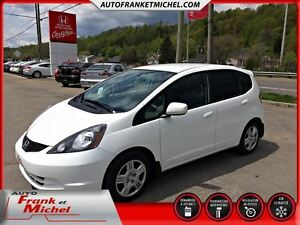 2014 Honda Fit LX GARANTIE PROLONGÉE