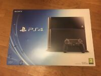 PlayStation 4 500GB + controller (Marble Arch)