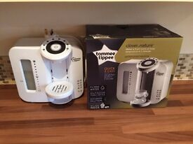 Tommee Tippee Perfect Prep Machine! Makes Perfect Bottle in 2 Mins! Works With Any Bottles! AS NEW!