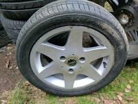 Smart car alloy single spare x1