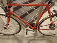 Free scrap metal / steel (broken bike frame).