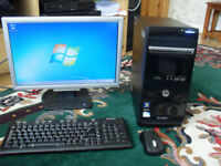 HP PAVILION P6 2120A PC FULL INTEL WINDOWS 7 SYSTEM