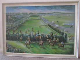 Grand National framed print
