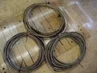 Twin and Earth Cable - 10 sq mm csa - 3 reels of 15m each - £10 per reel