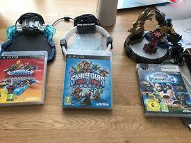 Skylanders games, portals and caracters for PS3